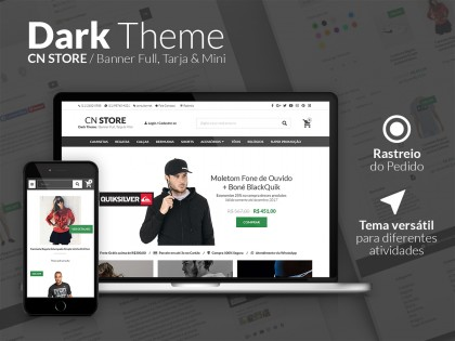 CN STORE - Dark Theme