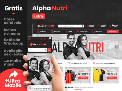 Alpha Nutri Ultra - Suplementos