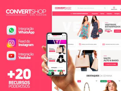 ConvertShop - Girl Fashion
