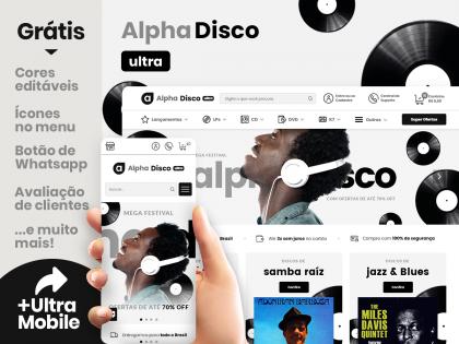 Alpha Disco Ultra - Loja de Discos