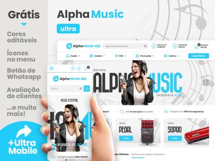 Alpha Music Clean Ultra - Música & Arte
