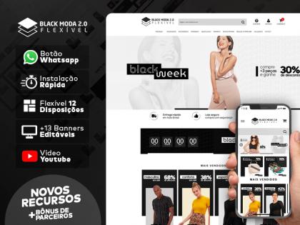Tema Flexível - Black Moda 2.0