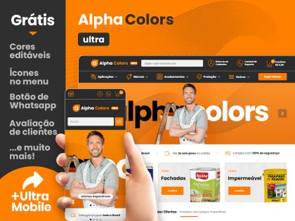 Alpha Colors Ultra - Tintas & Reformas