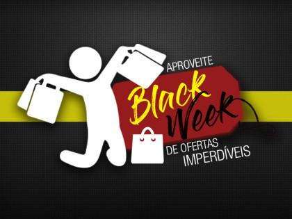 Banner Black Week de ofertas imperdíveis