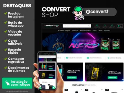 ConvertShop - Loja do Nerd