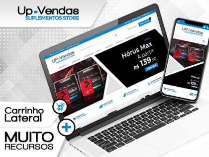 UP Vendas - Suplementos Store