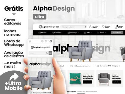 Alpha Design Ultra - Móveis & Decoração