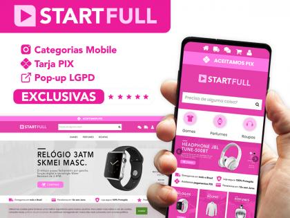 Start Full Rosa - Uma Loja Completa