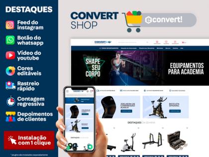 ConvertShop - Equipamentos Gym