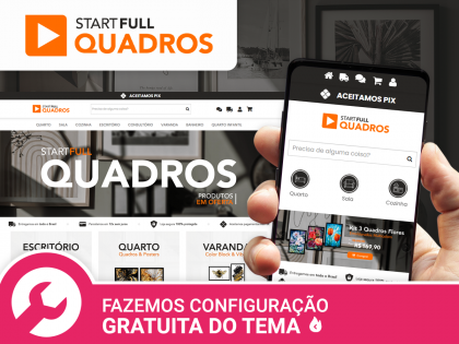 Start Full Quadros - Adesivos & Posters