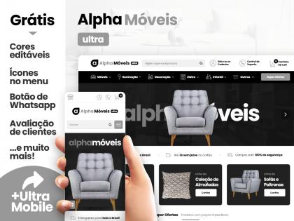 Alpha Móveis Ultra - Móveis & Decoração
