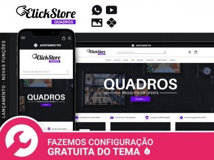 Click Store Quadros - Adesivos & Posters
