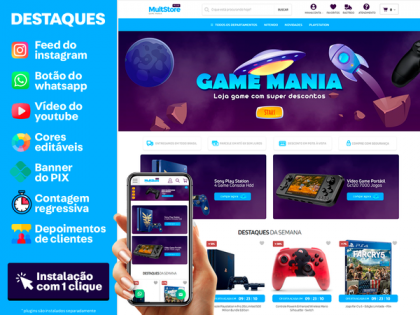 MultStore PLUS - Game Mania