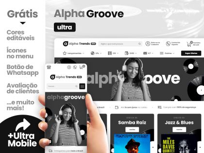 Alpha Groove Ultra - Loja de Discos