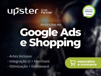 Anúncios no Google Ads e Shopping