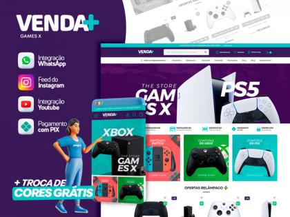VENDA MAIS - Games X
