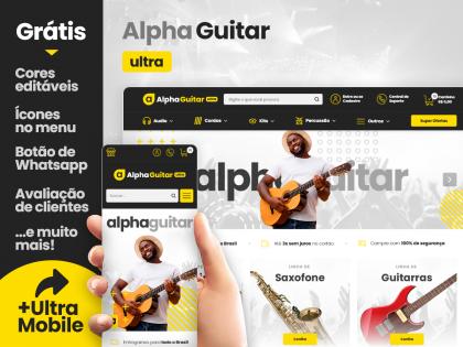 Alpha Guitar Ultra - Música & Arte