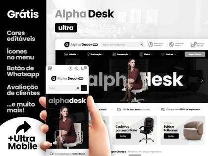 Alpha Desk Ultra - Móveis & Decoração