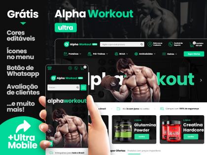 Alpha Workout PIX - Loja de Suplementos