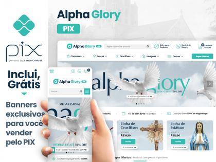 Alpha Glory PIX - Artigos Religiosos