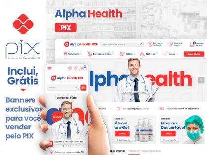Alpha Health PIX - Saúde & Bem-Estar