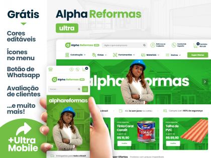 Alpha Reformas Ultra - Casa & Construção