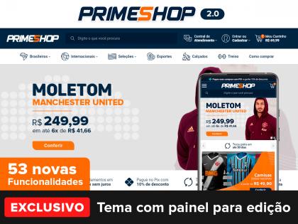 PrimeShop 2.0 Blue Orange