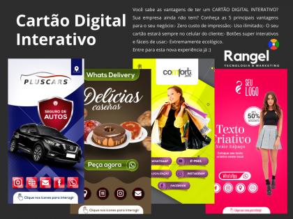 Criação do Cartão Digital Interativo