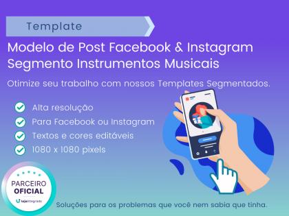 Modelo Post: Segmento Instrumentos Music