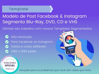 Modelo Post: Segmento Blu-Ray, DVD, CD e