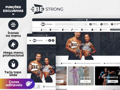 Be Strong Suplementos Academia Esporte