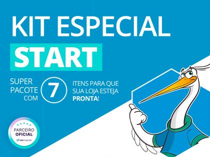 Kit Start Loja Integrada - Loja Completa