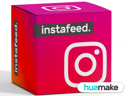 Instafeed Oficial - Sem limite de uso!