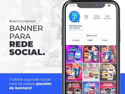 Banner para Rede Social (Social Media)