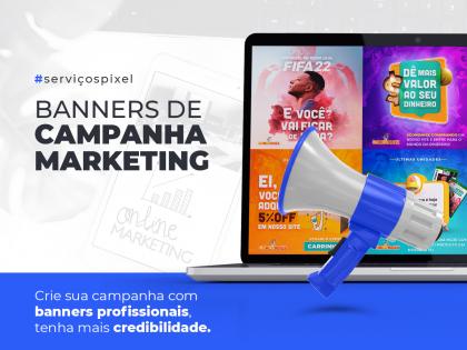 Criação de Banner - Campanha Marketing