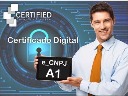 Certificado Digital e-CNPJ A1