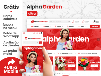 Alpha Garden Ultra - Floricultura