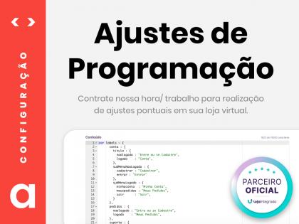 Ajustes de Programação