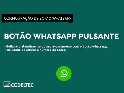 Botão WhatsApp Pulsante