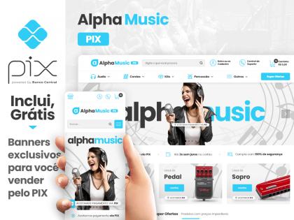 Alpha Music Clean PIX - Música & Arte