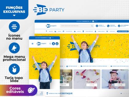Be Party - Decoração Festas Kids