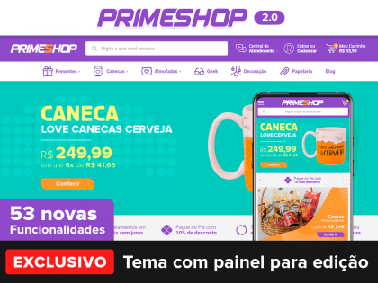 PrimeShop 2.0 Presentes
