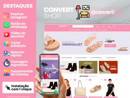 ConvertShop - Calçados Store