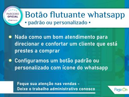 Botão flutuante whatsapp