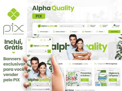 Alpha Quality PIX - Produtos Veganos