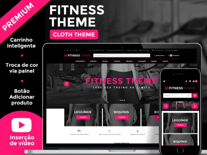 Fitness Theme Xtech