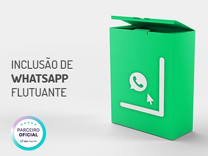 Inclusão de WhatsApp Flutuante