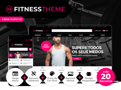 Fitness Theme V2