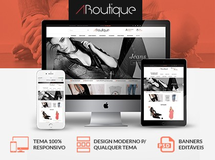 ABoutique Store (Layout Responsivo)