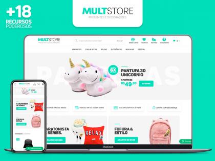 MultStore - Presentes e Decoração